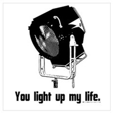You Light Up My Life! Canvas Art